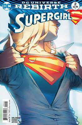 Supergirl Vol. 7 (2016-... Variant Covers) #2