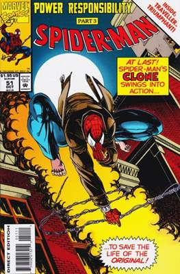 Spider-Man (Vol. 1 1990-2000) (Comic Book) #51