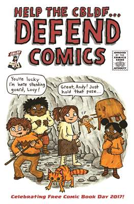 Help the CBLDF... Defend Comics - Free Comic Book Day
