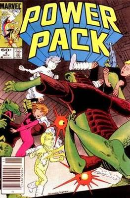 Power Pack (1984-1991; 2017) (Grapa) #4