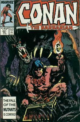 Conan The Barbarian (1970-1993) (Comic Book 32 pp) #201