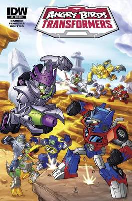 Angry Birds Transformers (Grapa) #2.1