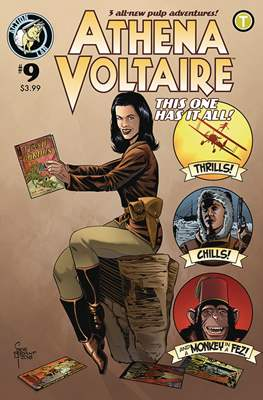 Athena Voltaire (Comic Book) #9