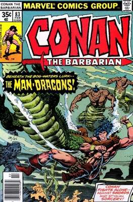 Conan The Barbarian (1970-1993) (Comic Book 32 pp) #83