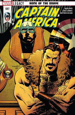 Captain America Vol. 8 (2017-2018) (Comic Book) #697