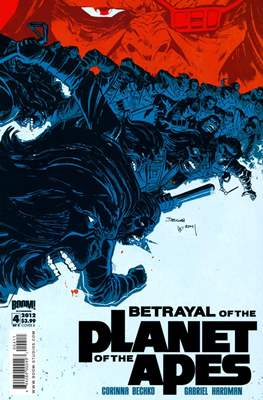 Betrayal of the Planet of the Apes (Comic Book) #4