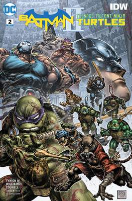 Batman / Teenage Mutant Ninja Turtles II (Comic Book) #2
