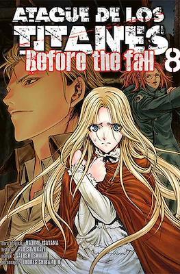 Ataque de los Titanes: Before the Fall (Rústica) #8