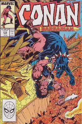 Conan The Barbarian (1970-1993) (Comic Book 32 pp) #216