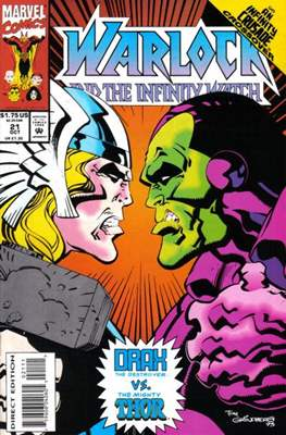 Warlock and the Infinity Watch (Comic-Book) #21
