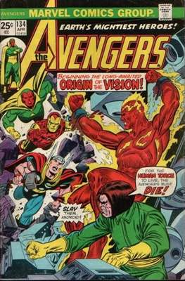 The Avengers Vol. 1 (1963-1996) (Comic Book) #134
