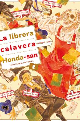 La librera calavera Honda-san (Rústica 168 pp) #2