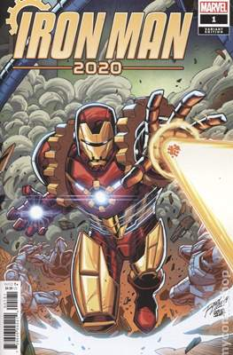 Iron Man 2020 (2020- Variant Cover) #1.2