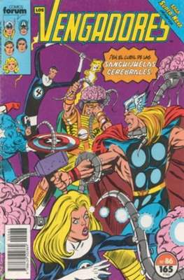 Los Vengadores Vol. 1 (1983-1994) (Grapa) #86