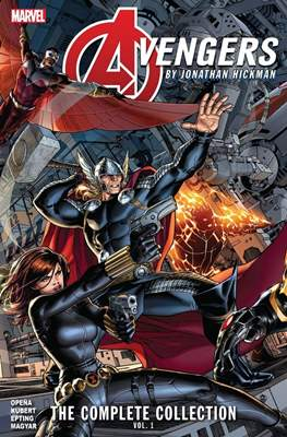 Avengers by Jonathan Hickman: The Complete Collection #1
