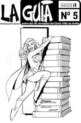 La Guía de las XII Jornadas de Avilés (Autoedición. Grapado. Blanco y Negro. 12 páginas) #5