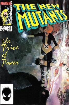 The New Mutants (Comic Book) #25