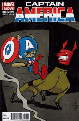 Captain America Vol. 7 (2013-2014 Variant Cover) (Comic Book) #16