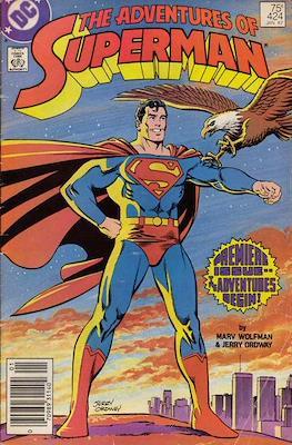 Superman Vol. 1 / Adventures of Superman Vol. 1 (1939-2011) (Comic Book) #424