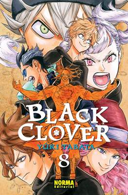 Black Clover (Rústica con sobrecubierta) #8