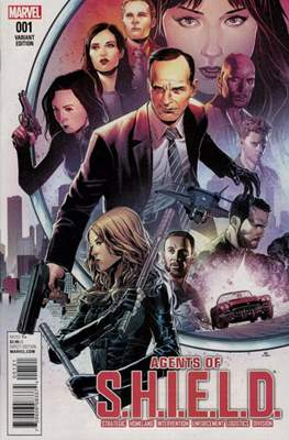 Agents of S.H.I.E.L.D (Variant Cover)