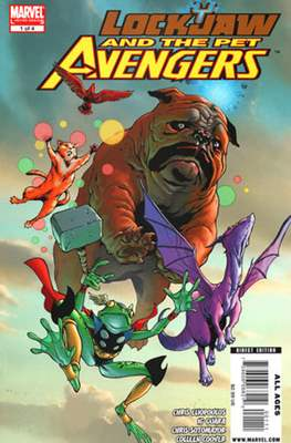 Lockjaw and the Pet Avengers (Comic Book) #1