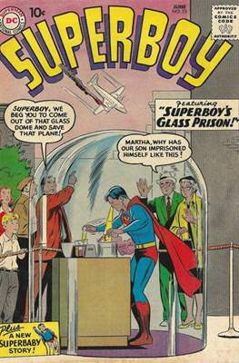Superboy Vol.1 / Superboy and the Legion of Super-Heroes (Comic Book) #73