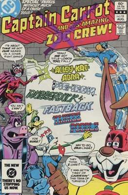 Captain Carrot and his amazing Zoo Crew (Comic Book) #18