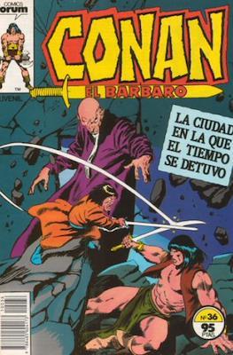 Conan el Bárbaro (1983-1994) (Grapa. 19x27. 36/32/24 páginas. Color.) #36
