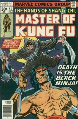 Master of Kung Fu (Comic Book. 1974 - 1983. Continued from Special Marvel Edition #16) #56