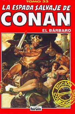 La Espada Salvaje de Conan el Bárbaro. Edición coleccionistas (Rojo) (Cartoné 192 pp) #33