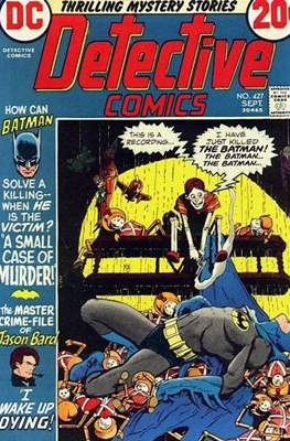 Detective Comics Vol. 1 (1937-2011; 2016-) (Comic Book) #427