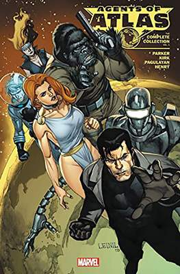 Agents Of Atlas: The Complete Collection