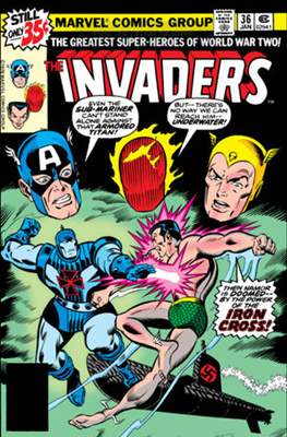 The Invaders (Comic Book. 1975 - 1979) #36