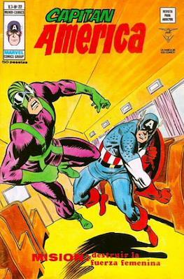 Capitán América Vol. 3 (1975-1980) (Grapa) #22