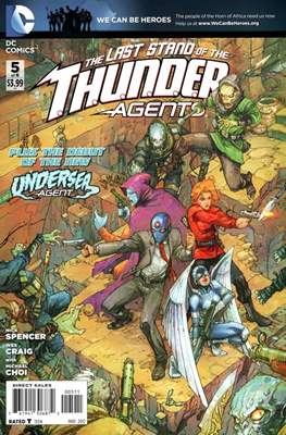 T.H.U.N.D.E.R. Agents Vol. 4 (2012) (Comic Book) #5