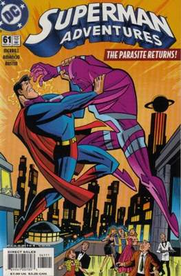 Superman Adventures (Comic-book) #61