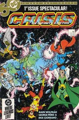 Crisis on Infinite Earths (Comic Book) #1