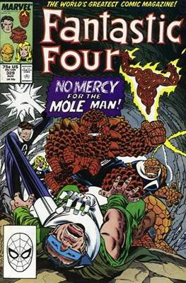 Fantastic Four Vol. 1 (1961-1996) (saddle-stitched) #329