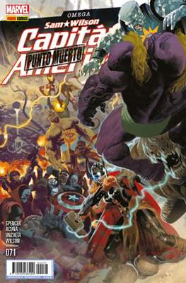 Capitán América Vol. 8 (2011-) (Grapa) #71