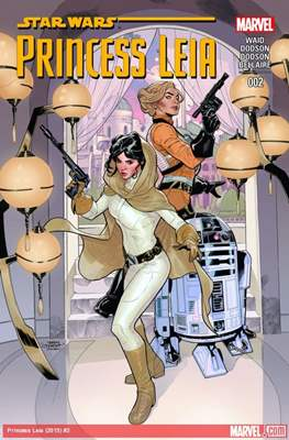 Princess Leia. Star Wars (Comic book) #2