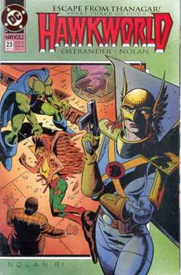 Hawkworld (Comic Book) #23