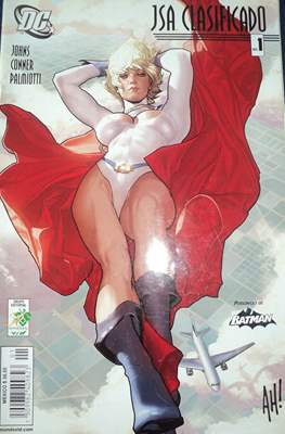 JSA Clasificado- Power Girl #1
