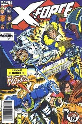 X-Force Vol. 1 (1992-1995) (Grapa 24-32 pp) #20