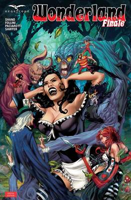 Grimm Fairy Tales presents Wonderland (Comic Book) #51
