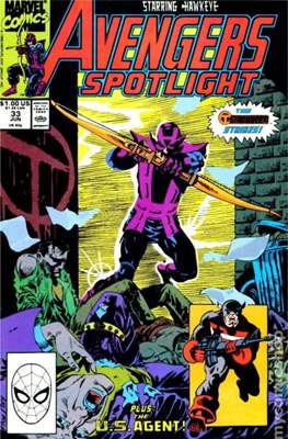 Solo Avengers / Avengers Spotlight (Comic book) #33