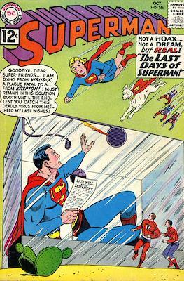 Superman Vol. 1 / Adventures of Superman Vol. 1 (1939-2011) (Comic Book) #156