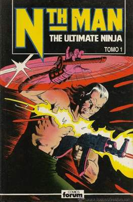 Nth Man. The Ultimate Ninja (Cartone) #1
