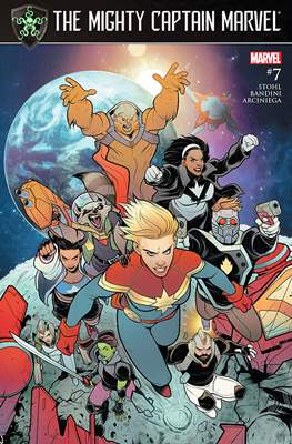 The Mighty Captain Marvel (2017-) #7