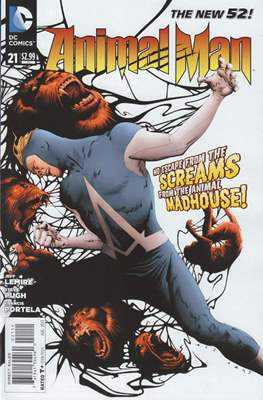 Animal Man vol. 2 (2011-2014) (Comic-book) #21
